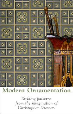 Modern Ornamentation :: Striking patterns from the imagination of Christopher Dresser